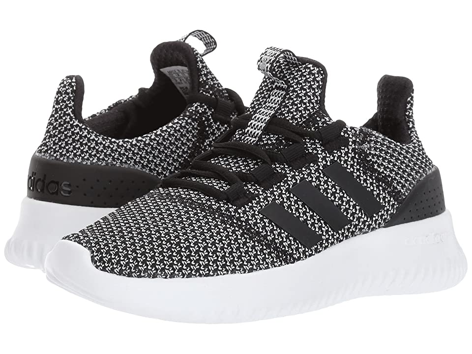 adidas Kids Cloudfoam Ultimate (Little Kid/Big Kid) (Core Black/Core Black/Silver Metallic) Kids Shoes