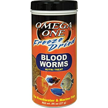 Omega One Freeze Dried Blood Worms