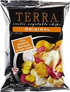 Terra Exotic Vegetable Chips, Original, Snack Size, 1 oz, 24 Pack