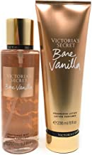Victoria's Secret Bare Vanilla Body Mist and Fragrance Lotion Set