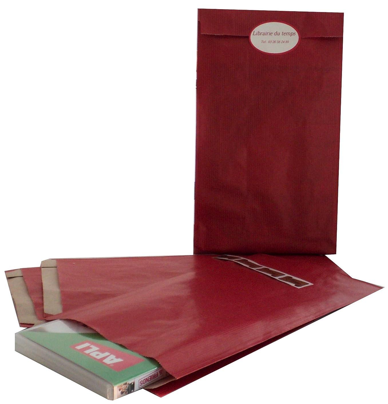 Agipa 101652?Gift Kraft Paper Envelopes?–?, Red Medium