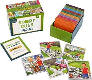 SkillEase Story Cues Skilled Sequence Cards a Speech Therapy Game for Critical Thinking Skills, Social Skills and Problem Solving