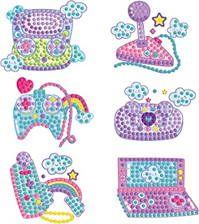 5D DIY Diamond Painting Stickers Kits for Kids, Diamond Art Mosaic Stickers by Numbers Kits Crafts Set for Children, Boys ...