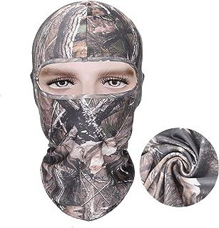 Eamber Realtree Camo Balaclava Full Face Mask Hood Headcover Hunting Shooting Cycling Motorcycle Tactical Comfortable Soft Balaclava Headwear