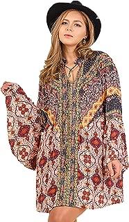 Best bohemian kimono dress Reviews