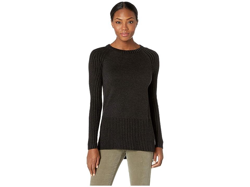 Smartwool Ripple Creek Tunic Sweater (Charcoal Heather) Women
