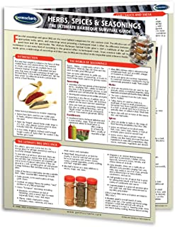 Herbs, Spices & Seasoning Guide - Food & Drink Quick Reference Guide by Permacharts