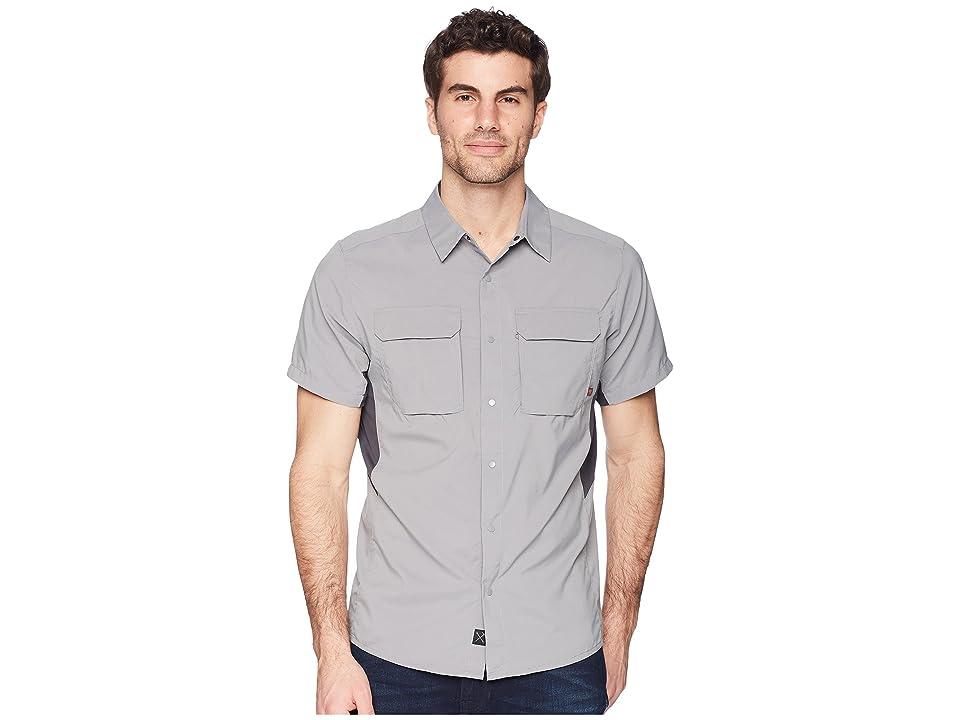 Mountain Hardwear Canyon Protm Short Sleeve Top (Manta Grey) Men