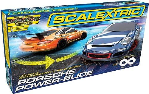 venta con alto descuento Scalextric C1343 Porsche Power-Slide Power-Slide Power-Slide Set  marcas de moda