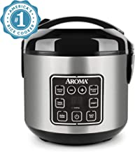 Aroma Housewares ARC-914SBD 2-8-Cups (Cooked) Digital Cool-Touch Rice Grain Cooker and..