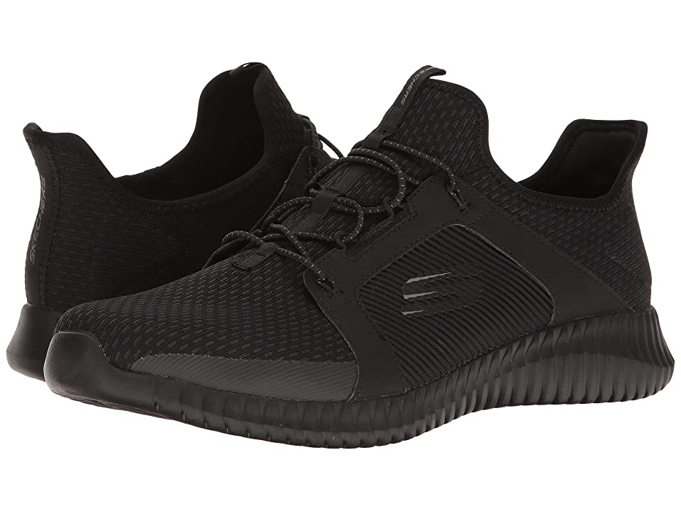 SKECHERS Elite Flex (Black/Black) Men