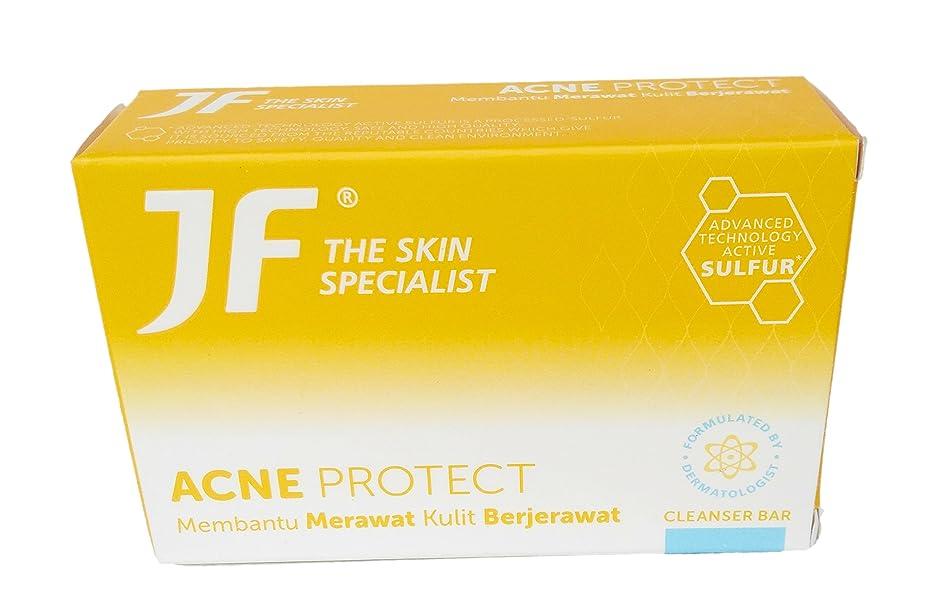 骨折怖い注入JF Sulfur 皮膚科専門医のにきびjf石鹸、90グラムを守ります