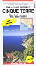 Cinque Terre map + Guide to trails. 185 trails 1:25.000