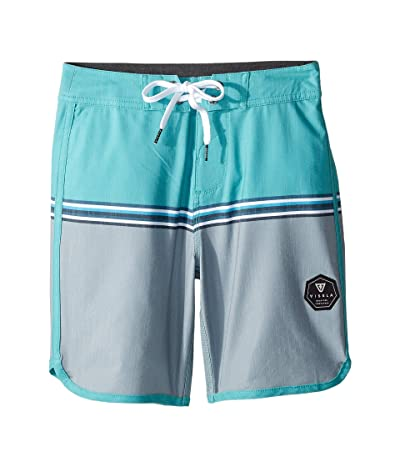 VISSLA Kids Dredges Boardshorts (Big Kids) (Jade) Boy