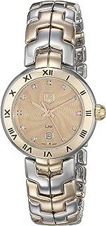 Women's WAT1451.BB0955 Link Analog Display Swiss Quartz Silver Watch