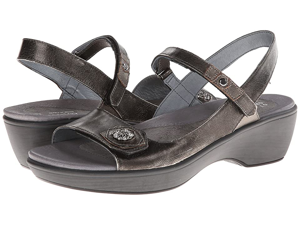 Naot Reserve (Metal Leather/Pewter Leather/Metal Leather) Women