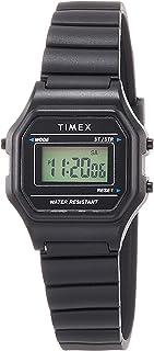 [タイメックス]TIMEX クラシック デジタル ミニ ブラック TW2T48700 レディース 【正規輸入品】