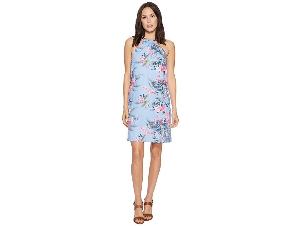 Tommy Bahama Madeira Blooms Short Dress (Dusty Lupine) Women