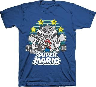 Mario Super Little & Big Boys Tee