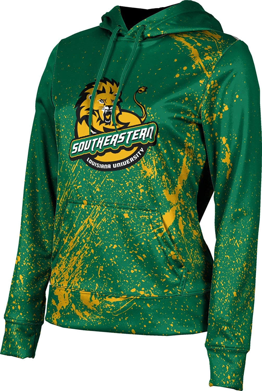 ProSphere Southeastern Louisiana University Girls' Pullover Hoodie, School Spirit Sweatshirt (Splatter)