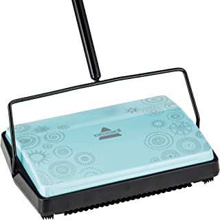 BISSELL Refresh Manual Sweeper – Pirouette, 2199,Blue