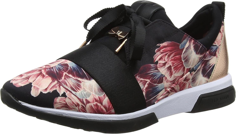 Ted Baker Womens Tranquility Black Cepap 2 Sneakers