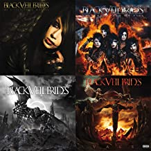 Black Veil Brides: 4 Studio Albums CD Collection (Vale / Set the World on Fire / We Stitch These Wounds plus More)