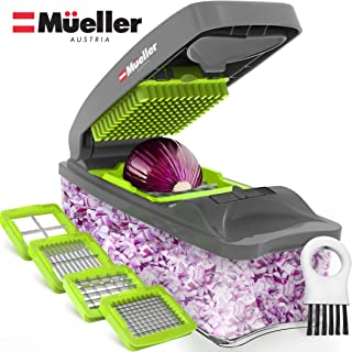 Mueller Austria Onion Chopper Pro Vegetable Chopper – Strongest – 30% Heavier..