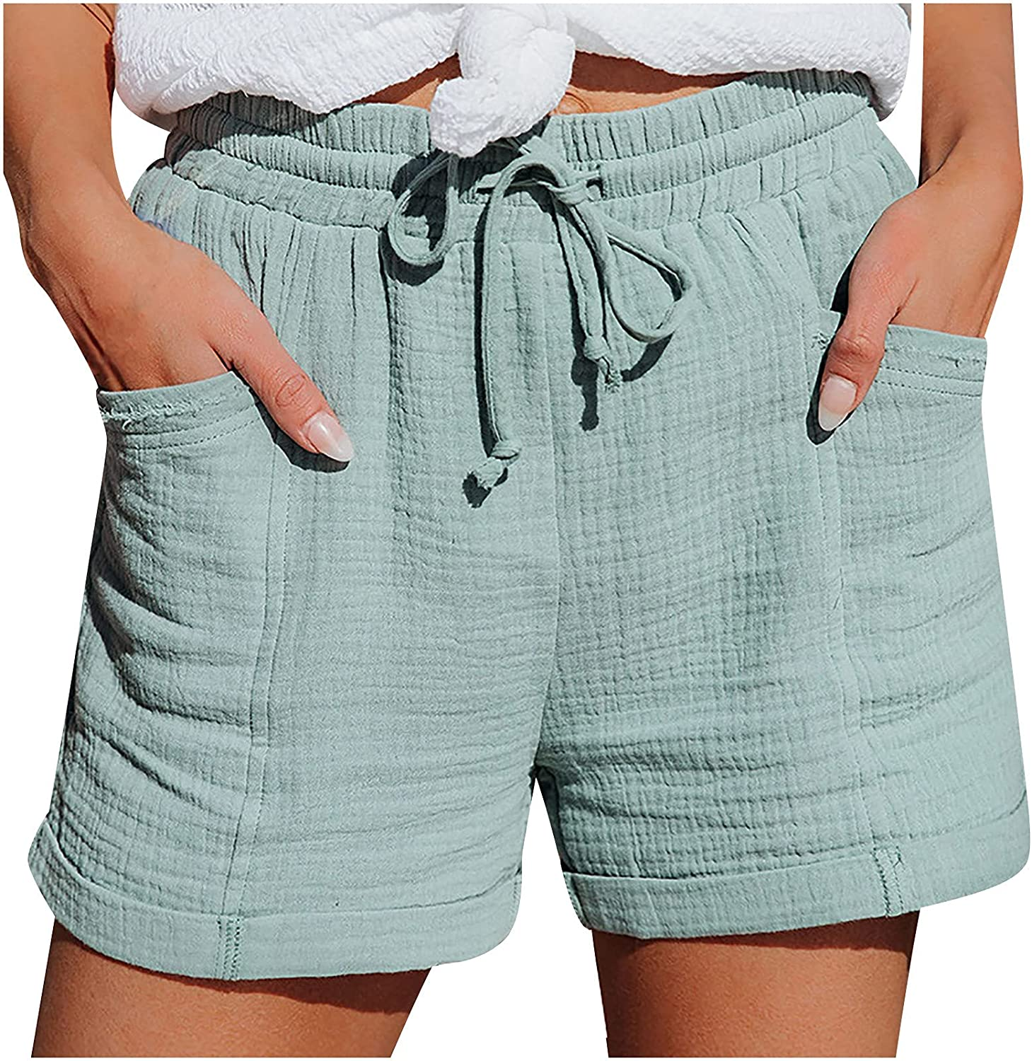 Store Bravetoshop Women's Athletic Wokout with Pockets Shorts Raleigh Mall Running