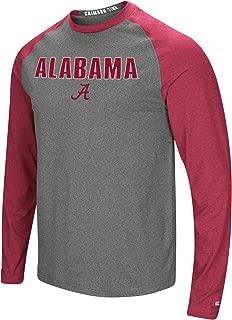 Colosseum Men's NCAA-Buzzer Beater- Long Sleeve Raglan T-Shirt-Heathered