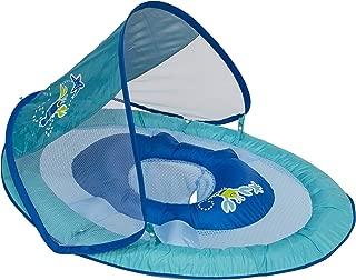 Swimways Baby Spring Float Sun Canopy - Blue Lobster (Renewed)