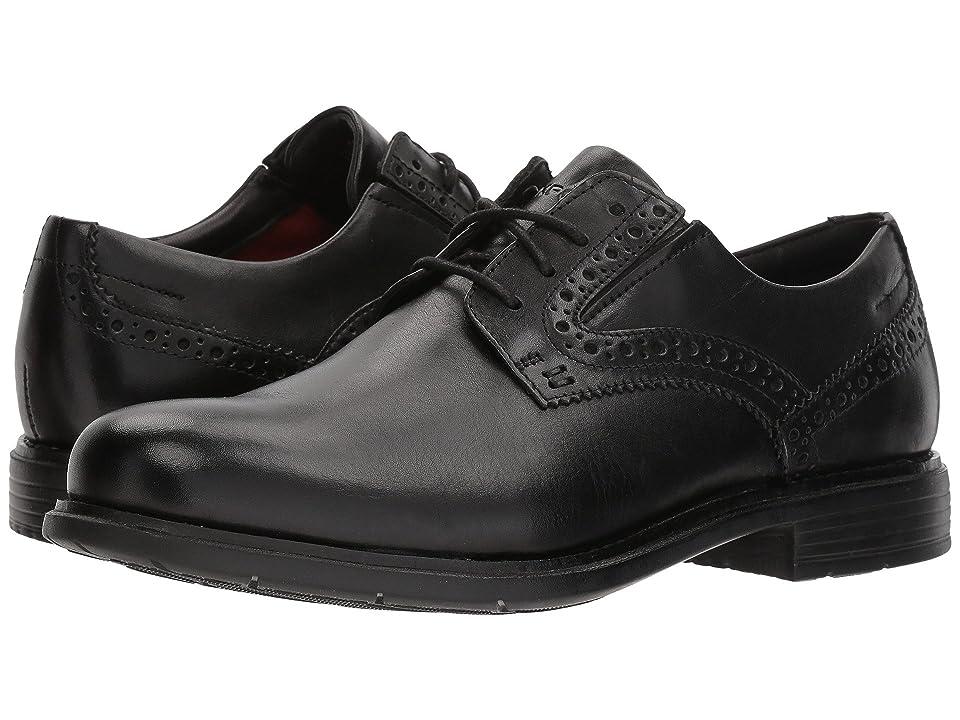 Rockport Total Motion Classic Dress Plain Toe (Black) Men