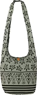 "Lovely Creations's Hippie Boho New Elephant Crossbody Bohemian Gypsy Sling Shoulder Bag""Medium"" Size"
