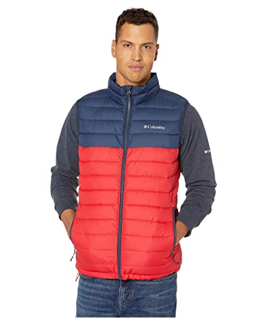 Columbia Powder Litetm Vest (Mountain Red/Collegiate Navy) Men