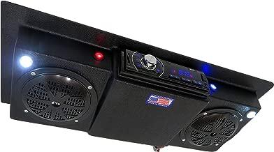 Custom Built Radios Golf Cart UTV Tractor RV Roof Mount Overhead Console Bluetooth Stereo with Lights