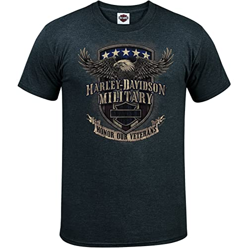 Harley-Davidson Military - Mens Graphic T-Shirt - Overseas Tour | Veterans Support