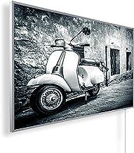 Könighaus Calefacción por infrarrojos a distancia – calefacción con imagen en HD con TÜV/GS – 200+ imágenes – con termosta...