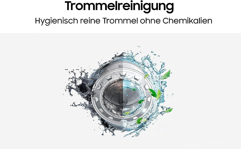 A+++ AddWash Hygiene-Dampfprogramm 1400 U//min Wei/ß 7 kg Samsung WW70T4543TE//EG Waschmaschine