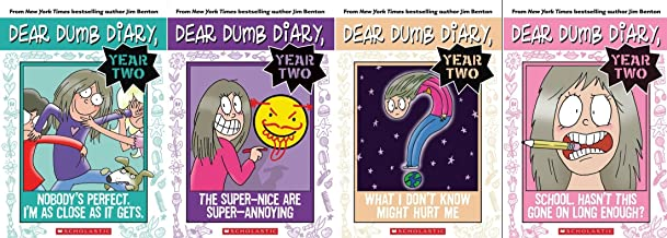 Dear Dumb Diary Year 2 Book Set: Includes Books 1-4: School. Hasn't This Gone on Long Enough? / The Super-Nice are Super-Annoying / Nobody's Perfect, I'm As Close As It Gets / What I Don't Know Might Hurt Me