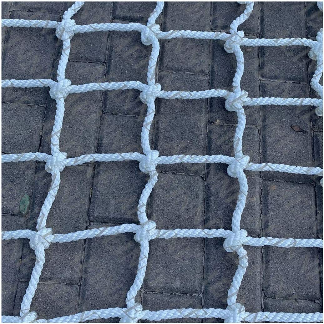 Safety Climbing Net,Cargo Net Climb Rope Netting Climbing for Kids Adult Playground Ladder Tree Swingset Rock Trailer Container Swing Sets Nylon Nets Giant Heavy /Duty Mesh Netting,for Adults Child