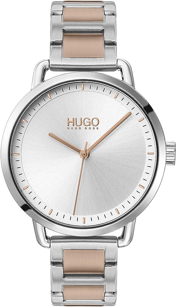 Hugo orologio analogico donna con cinturino in acciaio inox 1540057