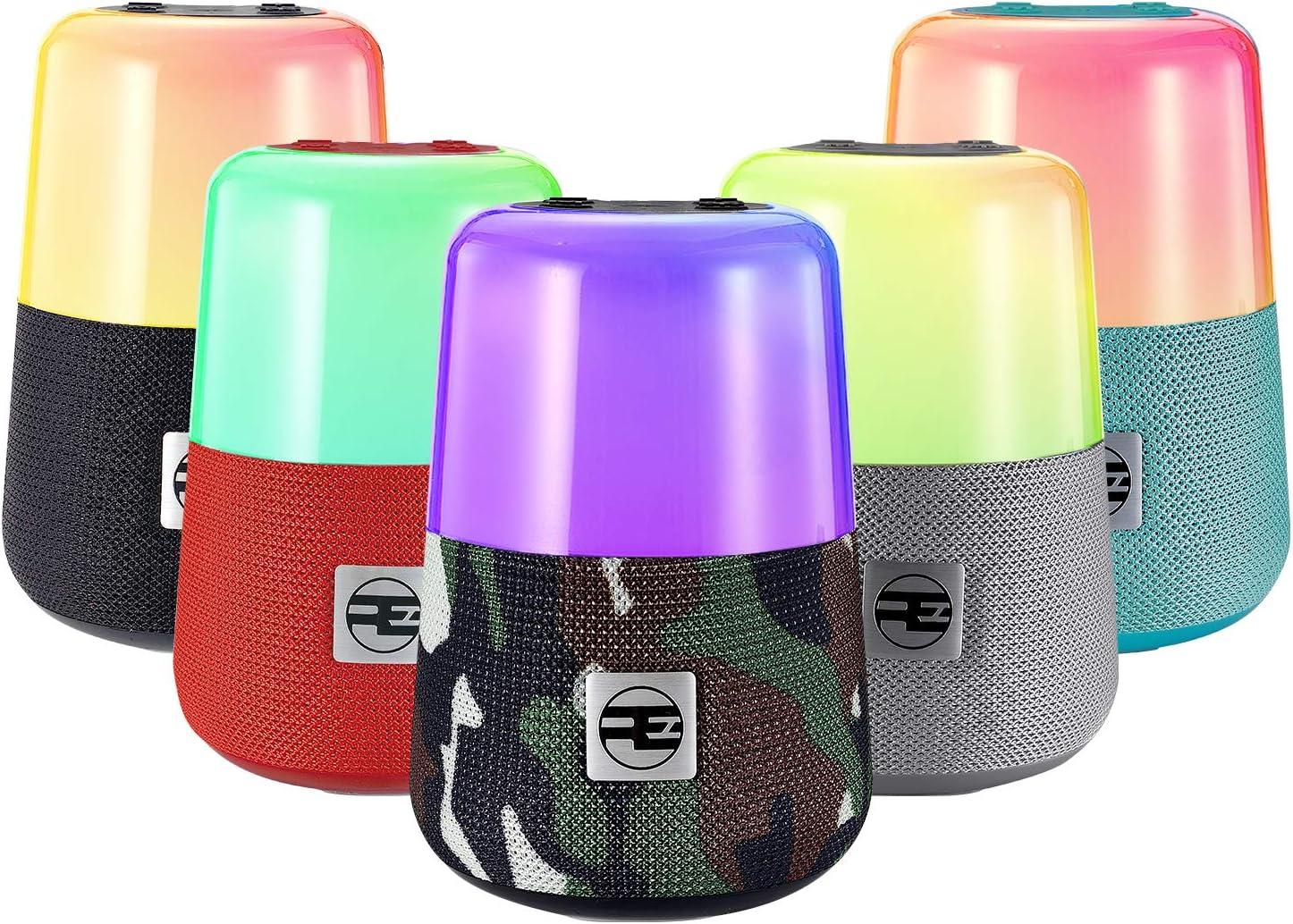 Night Light Bluetooth Speaker REROKA Mini Led Beacon Multi Free security shipping on posting reviews Colo