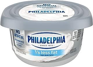 Philadelphia 1/3 Less Fat Cream Cheese Spread (8 oz Tub)