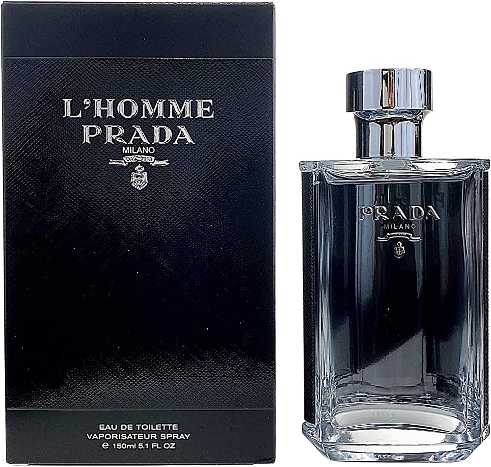Prada l`homme  eau de toilette uomo spray  - 150 ml 17293
