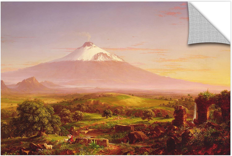 ArtWall Thomas Cole's Mounta Etna, 1842, Removable Wall Art Mural 12x18
