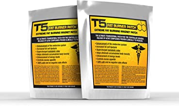 T5 Fat Burners Patches Detox Weight Loss Patches – Diet Pills Alternative Accessory 28 Patches – 1 Month Supply Estimated Price : £ 13,99