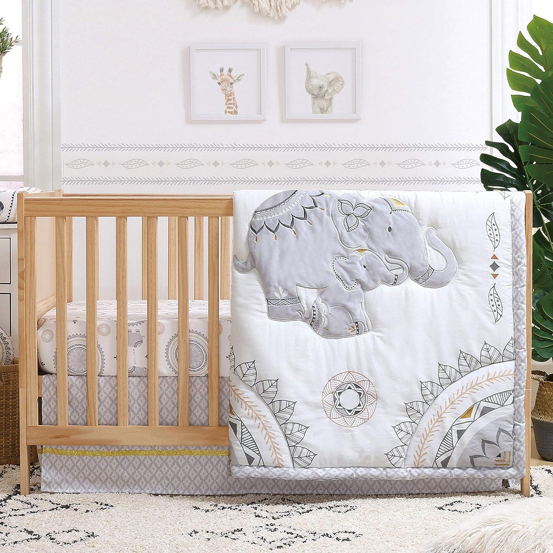 Limited time cheap sale The Max 61% OFF Peanutshell Boho 3 Bedding Crib Set Piece