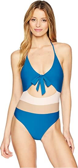 Neopolitan One-Piece Swimsuit