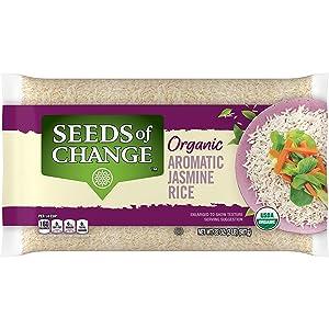 SEEDS OF CHANGE Organic Aromatic Jasmine Rice, Jasmine, 2 Lb