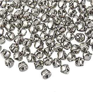 Jingle Bells - 200-Count Craft Silver Bells, Christmas Sleigh Bells for Wreath, Holiday Home Decoration, DIY Art Crafts, S...